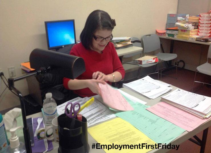 Nikki Nunez works as an administrative assistant